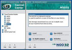 ESET NOD32 Antivirus screen1