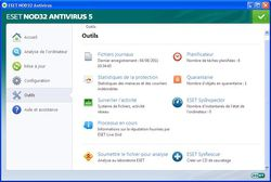 ESET NOD32 Antivirus v5  screen 2