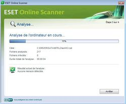 ESET Online Scanner 3