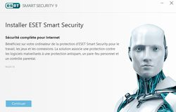 Eset Smart Security 9 installation