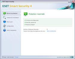 ESET Smart Security screen 1