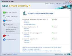 ESET Smart Security screen 2