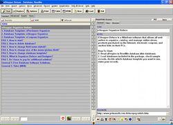 EShopper Deluxe screen