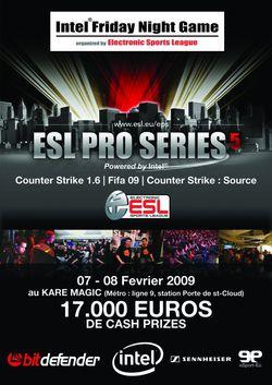ESL Pro Series 5