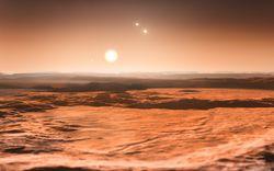 ESO exoplanètes gliese