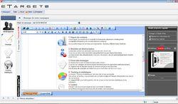 eTarget eMailing screen1