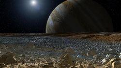 Europe lune Jupiter