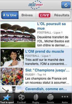 Eurosport iPhone 01
