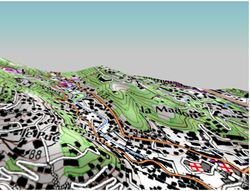 Evadeo Carte 3D relief 02