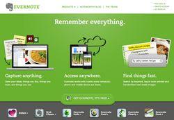 Evernote screen1