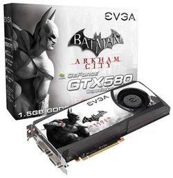 EVGA GeForce GTX 580 Batman Arkham City