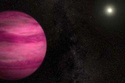 exoplanète rose - Copie