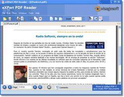 eXPert PDF Reader screen2