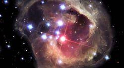 explosion étoile