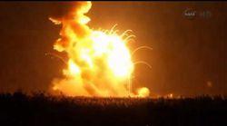explosion fusée Antares NASA