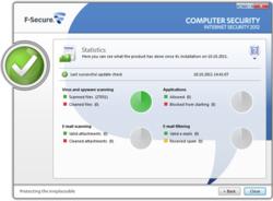 F-Secure Internet Security 2012 screen 2