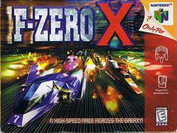 F Zero X   Pochette