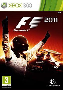 F1 2011 - Jaquette Xbox 360