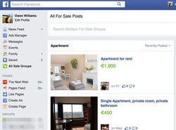 Facebook annonces