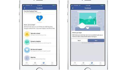 Facebook anti suicide