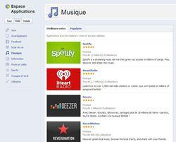 Facebook-apps-musique