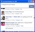 Facebook Desktop for AIR : gérer son compte Facebook sans s'y connecter...