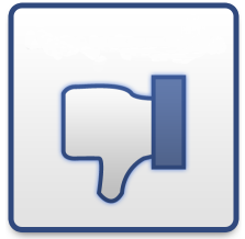 facebook-dislike logo