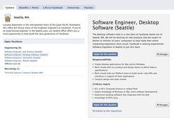 Facebook - emploi logiciels Windows Mac
