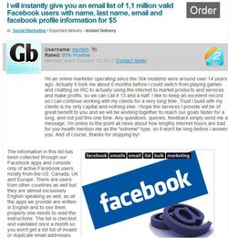 Facebook-Gigbucks-vente-donnees