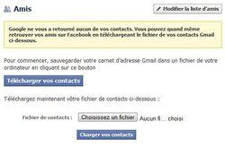 Facebook-Google-Contacts