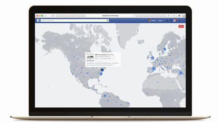 Facebook live carte
