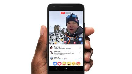 Facebook live fonctions