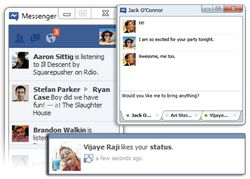 Facebook Messenger screen1
