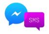 Messenger : Facebook revient au SMS pour Android