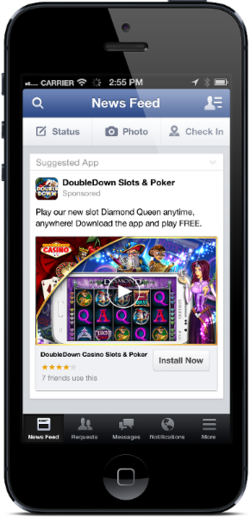 Facebook-mobile-pub-video-application