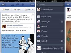 facebook sauvegarde