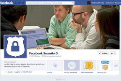 Facebook securité