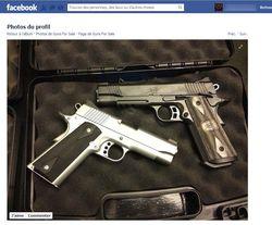 Facebook vente armes