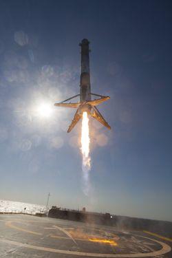 Falcon 9 barge