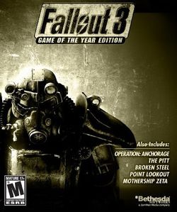 Fallout 3 GOTY - Jaquette