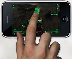 Fallout 3 iPhone - mockup