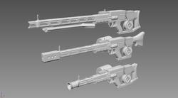 Fallout 4 Rail Rifle mod