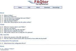 FAQtor