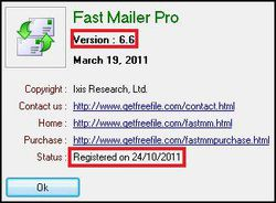 Fast Mailer Pro screen1