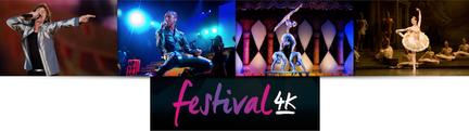 Festival 4K chaine ultra HD