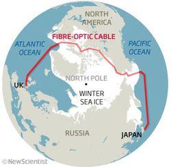 Fibre optique Arctique (1)