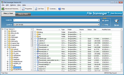 File Scavenger 3 screen 1