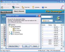 File Scavenger 3 screen 2
