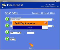File Splitz! screen1