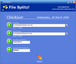File Splitz! screen2